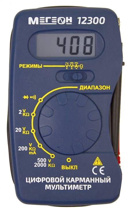 Мультиметр 12300 (к0000020069)