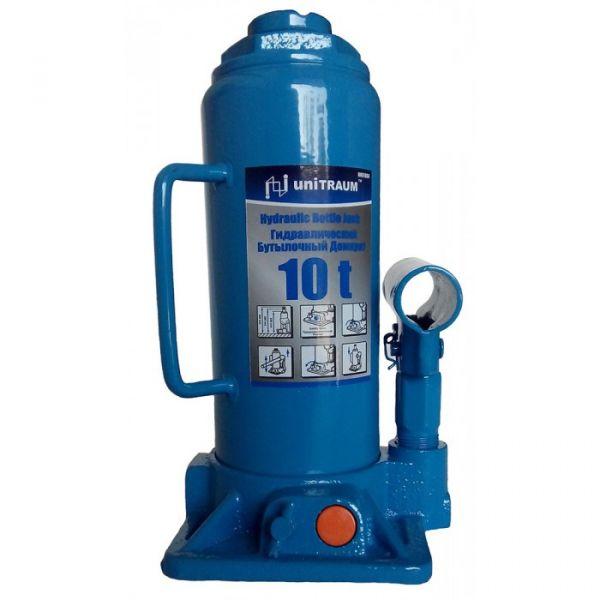Домкрат бутылочный 10 т UNITRAUM UN91004 230-460 мм